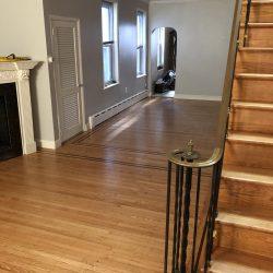 Refinished hardwood floors by Hudson Hardwood Floors