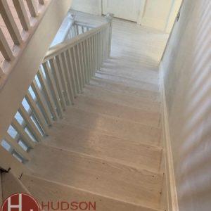 Hudson Hardood buffing & coating services